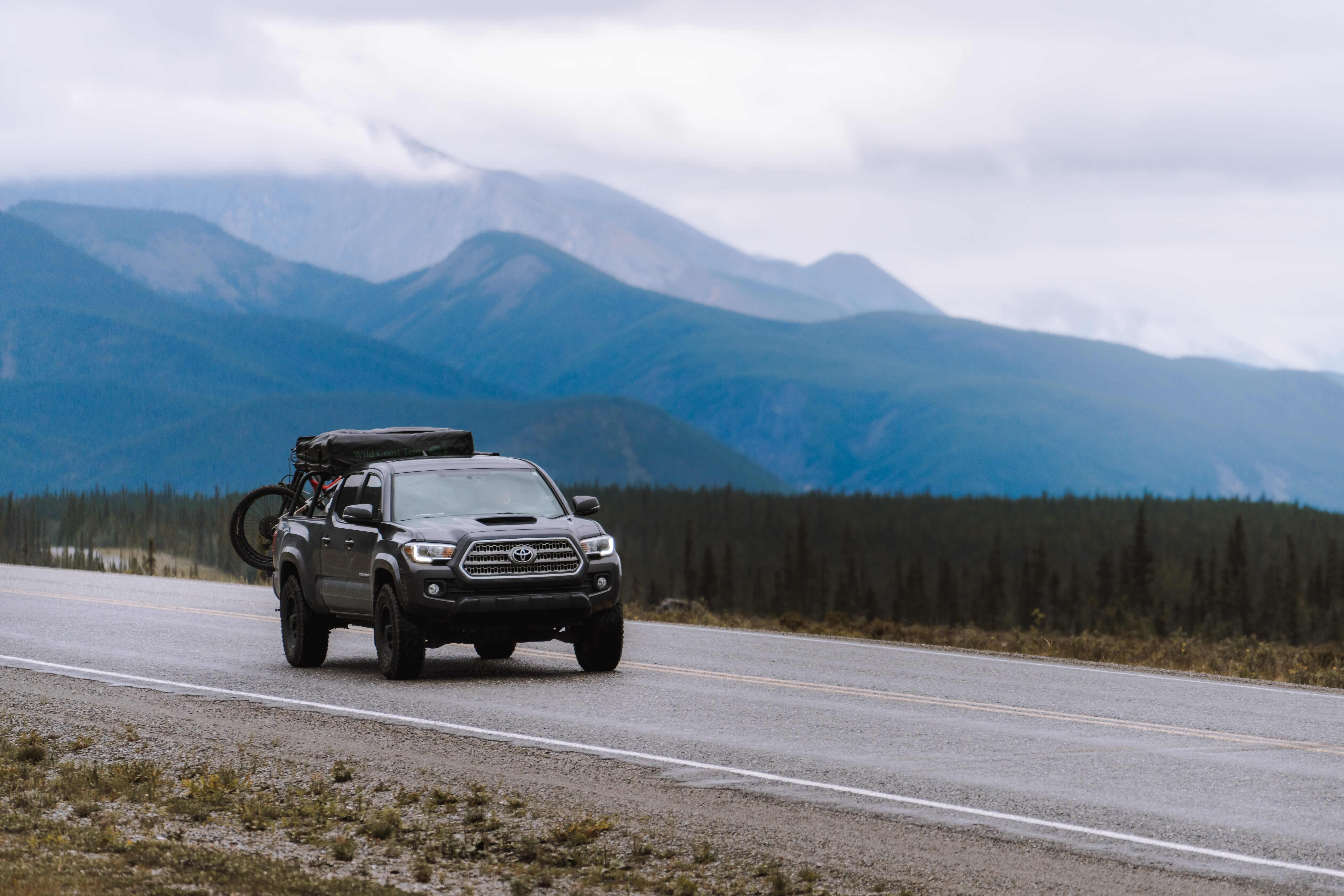 Toyota Tacoma Adventure: Yukon Road Trip