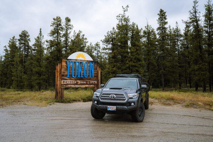 Toyota Tacoma Yukon Sign