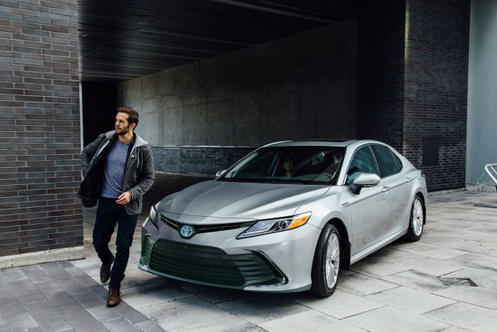 Financing a 2021 Camry Hybrid XLE