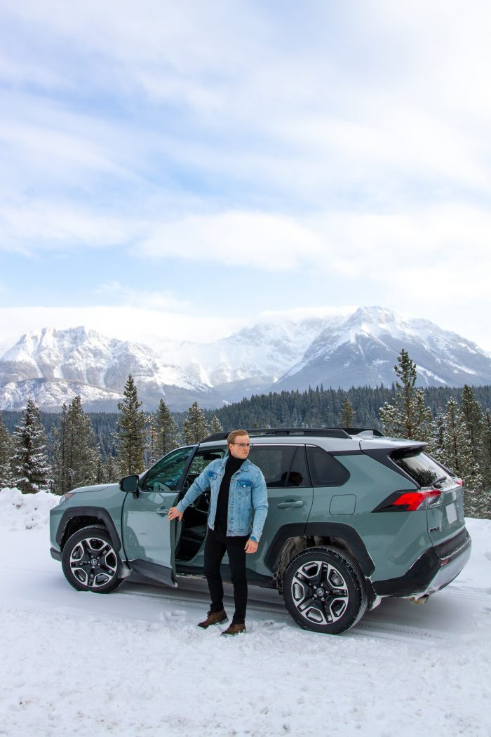 RAV4 Trail with Winter Tires