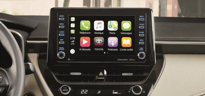 2021 Toyota Corolla Technology CarPlay
