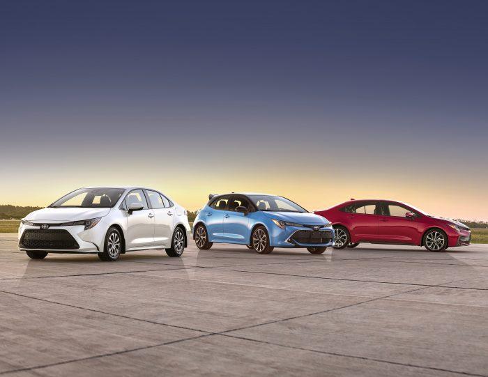 2022 Toyota Corolla Family Model Lineup