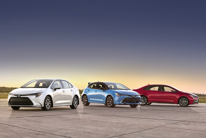 2022 Toyota Corolla Family Model Lineup Featured