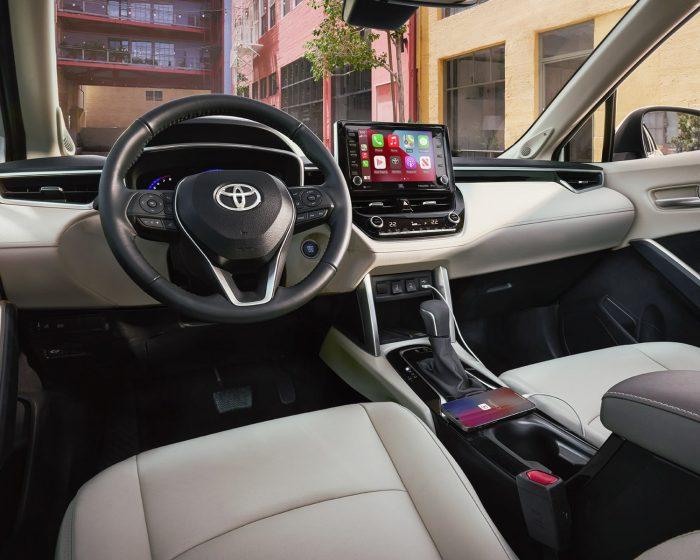 2022 Corolla Cross Interior