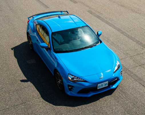 Toyota 86 on the race track