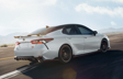 Camry XSE V6 TRD shown in Wind Chill Pearl with Black Roof