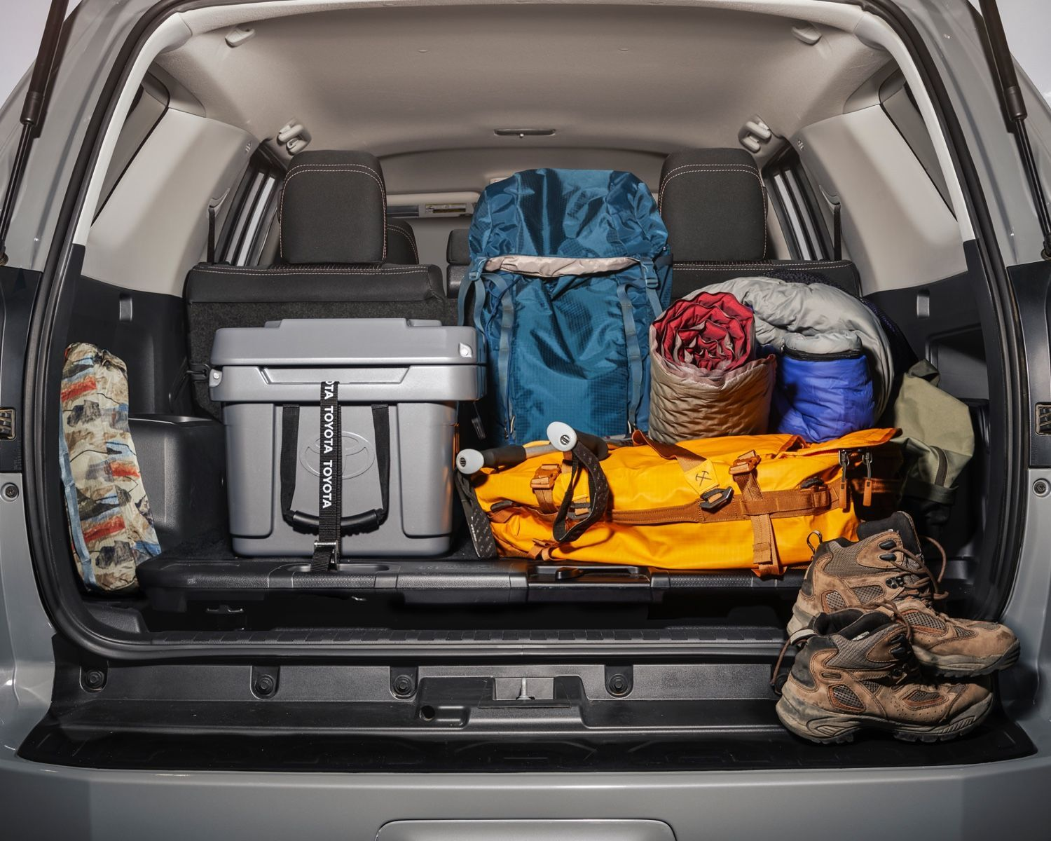 4Runner Trail rear cargo space