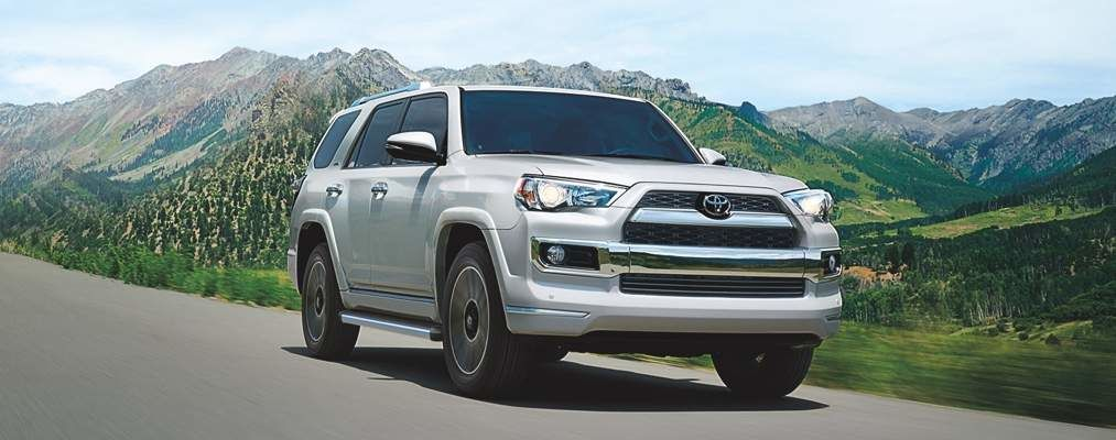4Runner Limited shown in Blizzard Pearl