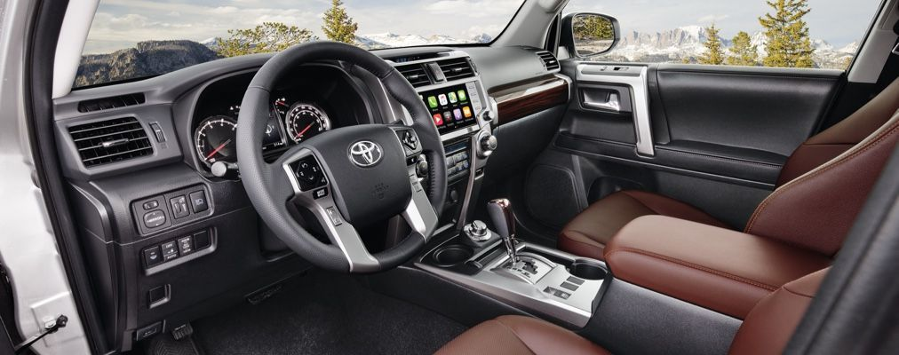 4Runner Limited with Redwood Leather interior