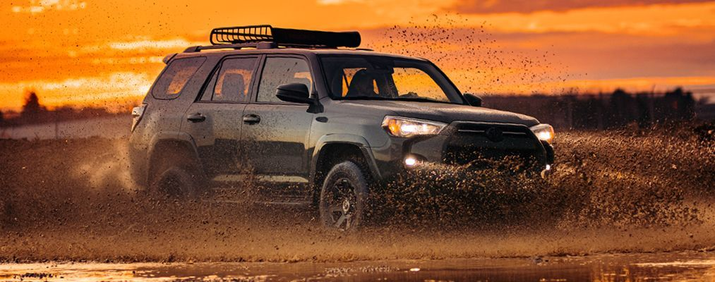 4Runner Trail shown in Army Green