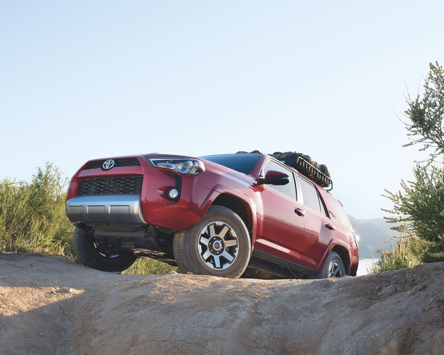 4Runner TRD Off-Road shown in Barcelona Red Metallic