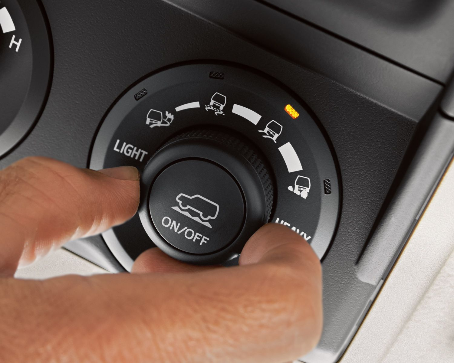 Available 4-Wheel Crawl Control