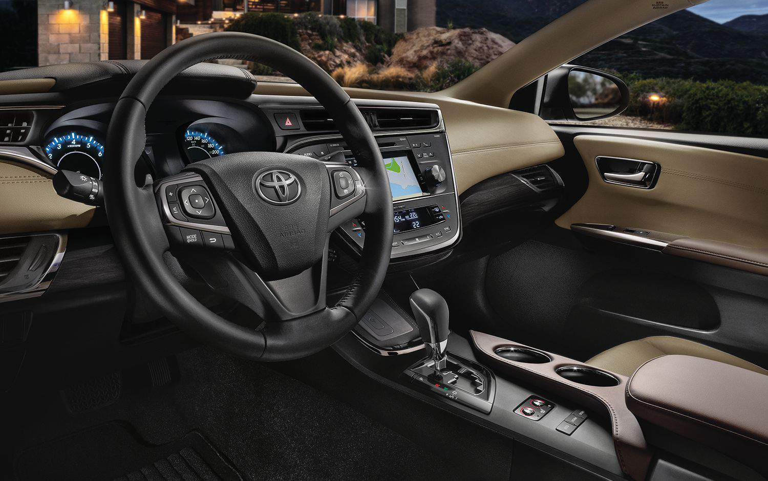 Avalon Limited with heated and ventilated premium leather front seats