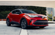 C-HR Limited montrée en Rouge supersonique