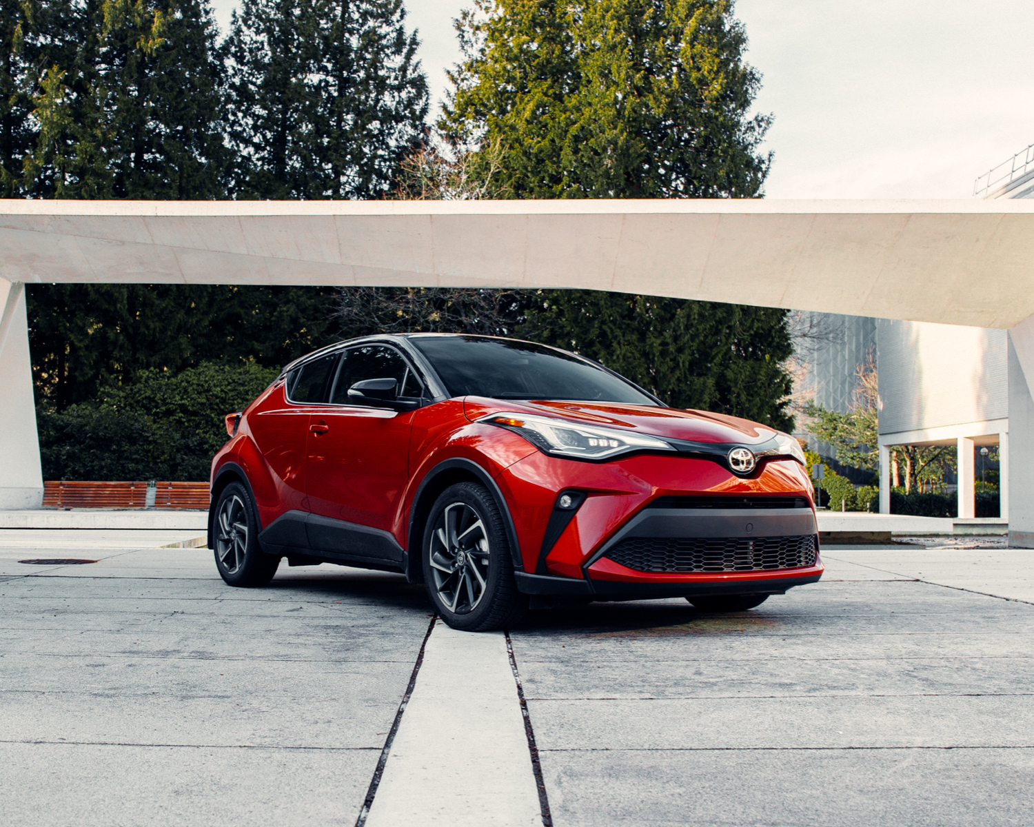 C-HR Limited shown in Supersonic Red