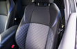 C-HR Interior Seats with Blue Black Fabric