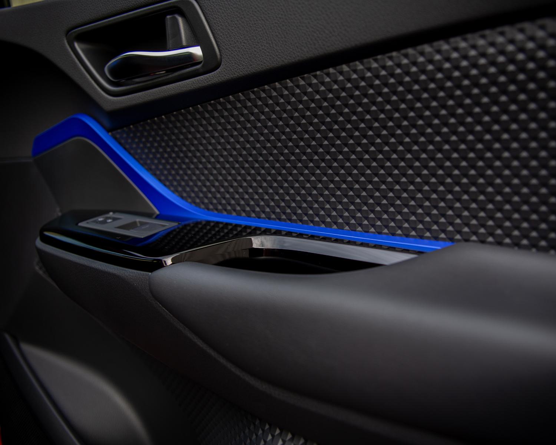 Intérieur du C-HR XLE Premium