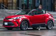 C-HR XLE Premium Nightshade Supersonic Red with Black Roof