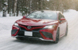 Camry XSE AWD shown in Supersonic Red