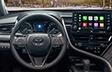 Camry hybride XSE avec intérieur en cuir sport noir