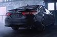 Camry SE AWD avec Édition nightshade montrée en Noir minuit métallisé