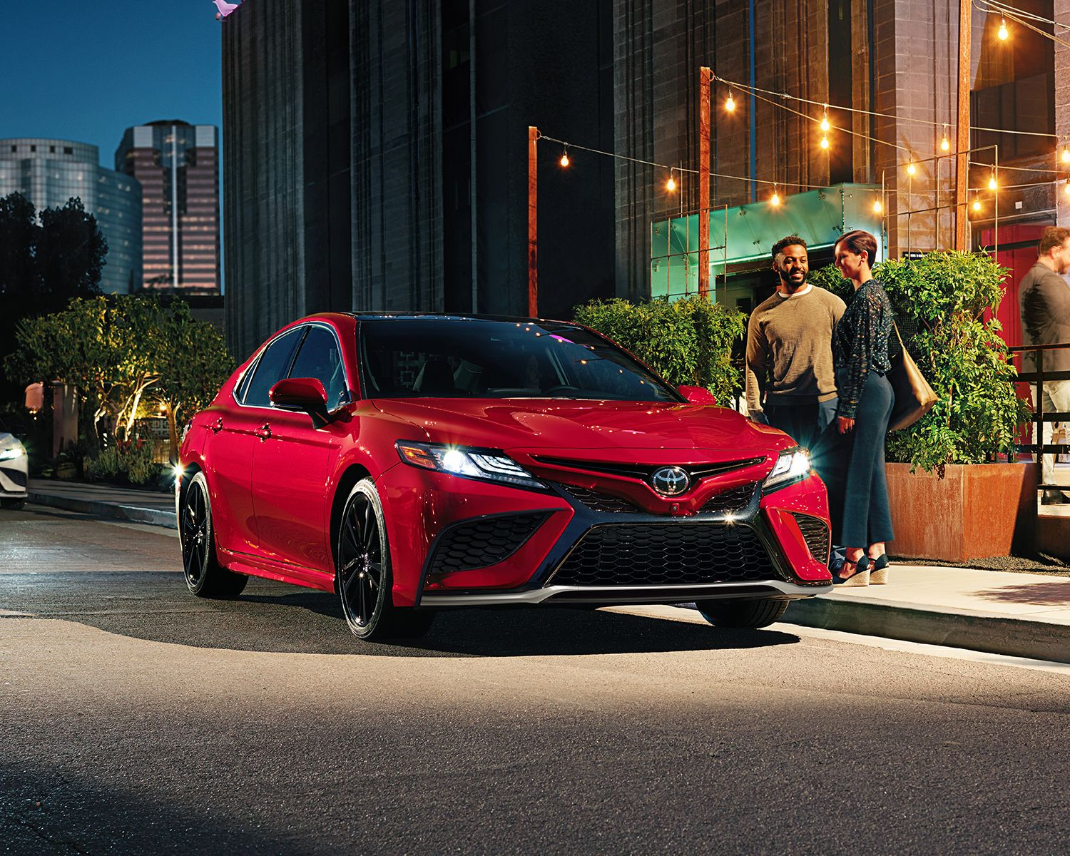 Camry XSE shown in Supersonic Red