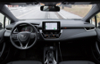 Corolla Hatchback CVT Nightshade Package dashboard