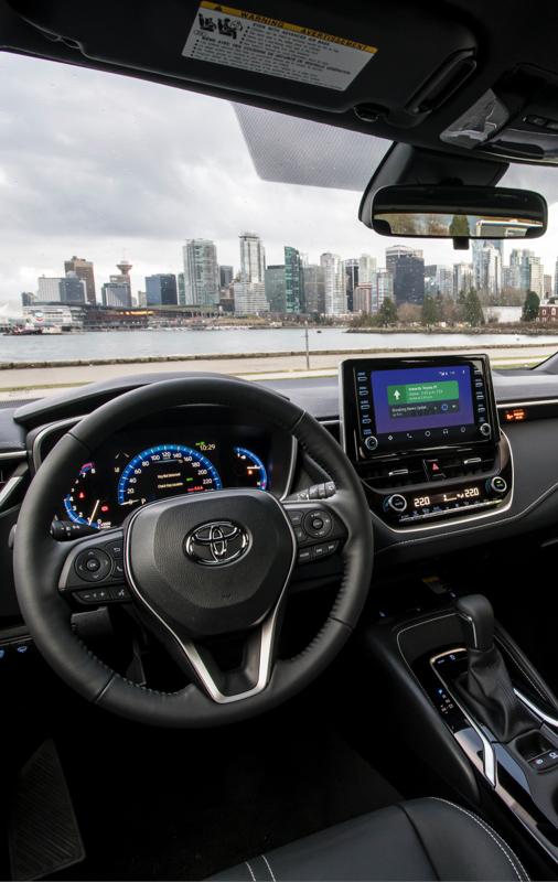 Corolla Hatchback XSE Interior