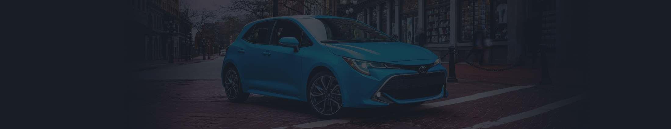 Corolla hatchback 2021
