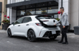 Corolla Hatchback CVT Nightshade couleur Super blanc