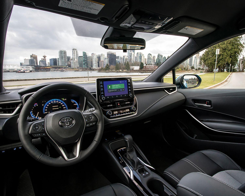 Intérieur de la Corolla Hatchback XSE