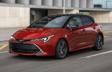 Corolla Hatchback XSE montrée en Rouge supersonique