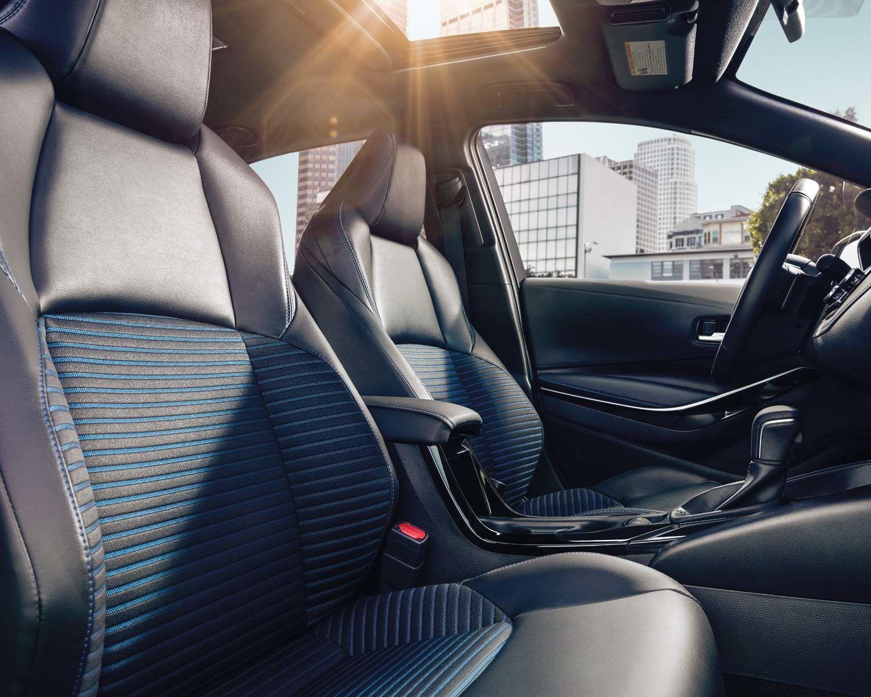 2021 Corolla seats