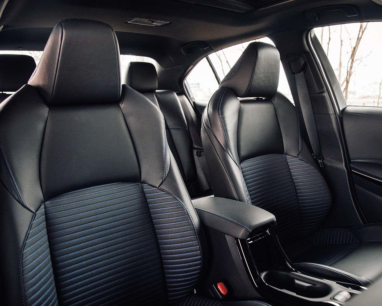 2021 Corolla SE upgraded interior