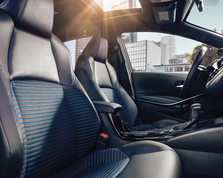 Corolla Interior shown in Fabric & SofTex
