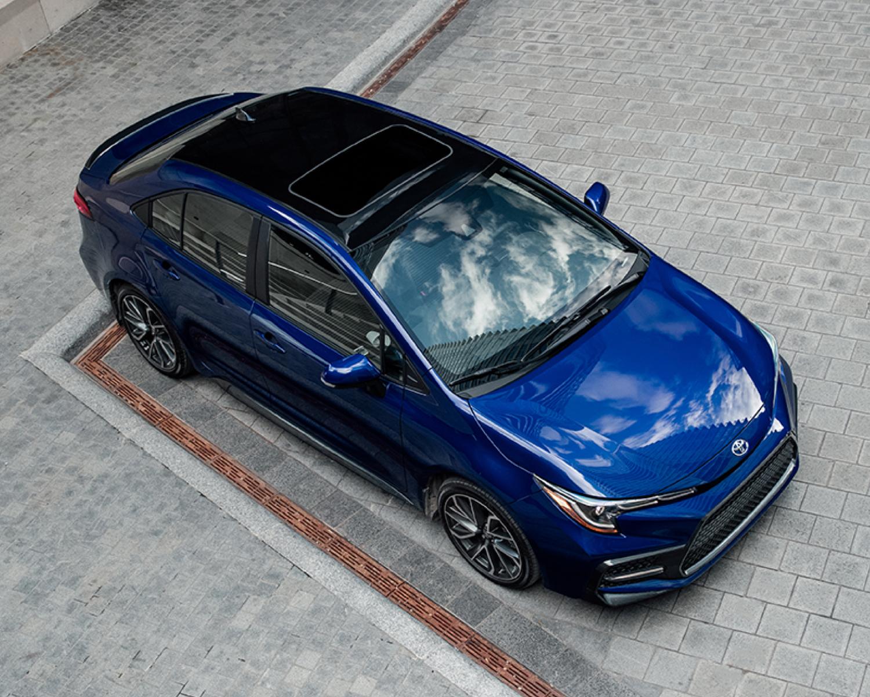 Corolla Hybrid shown in Blueprint