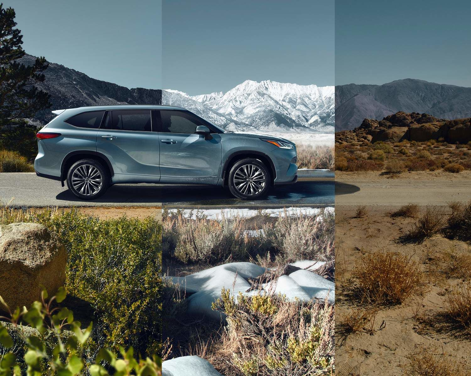 Highlander Platinum AWD shown in Moondust