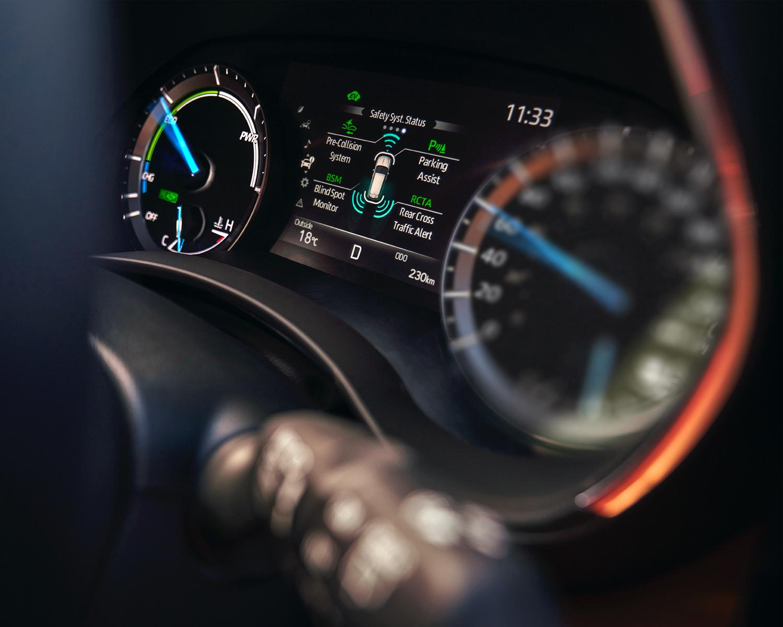 Highlander Dashboard showing the Safety System Status