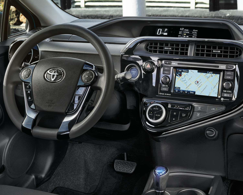 Prius c dashboard