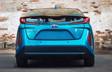 Prius Prime montrée en Bleu magnétisme