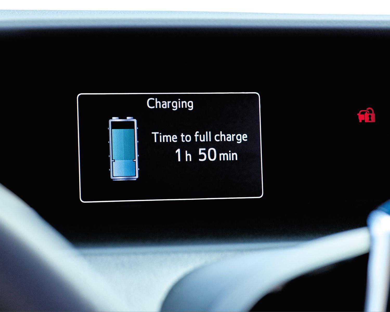 Prius Prime Charging Display