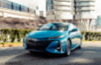 Prius Prime Technologie couleur Bleu magnétisme