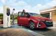 Prius Prime avec groupe Technologie en Rouge supersonique