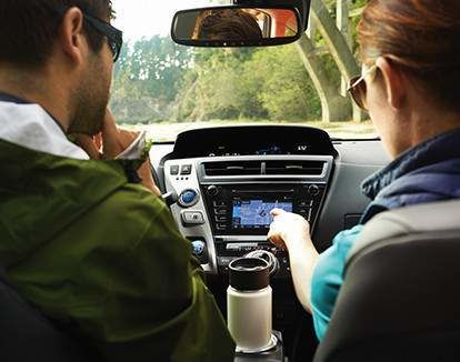 Système audio à écran d'affichage avec navigation