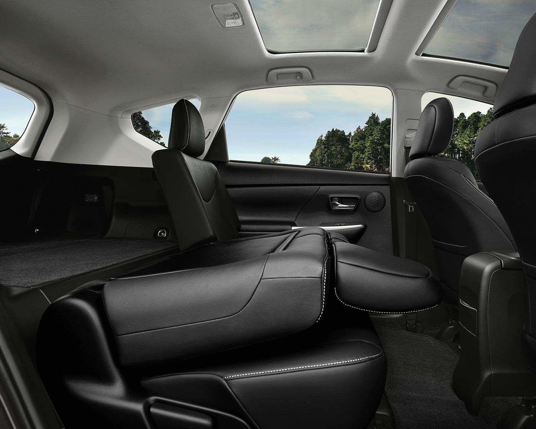 60/40 Split Rear Seats