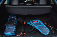 Prius Technology AWD-e Electric Storm Blue Cargo Area