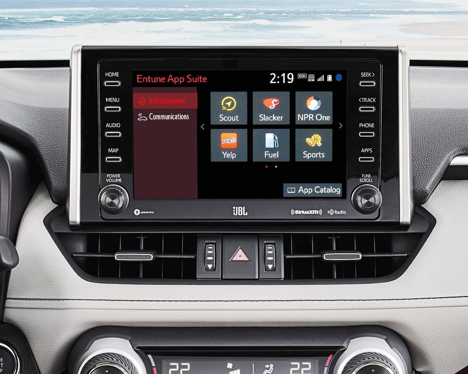 RAV4 Entune Screen