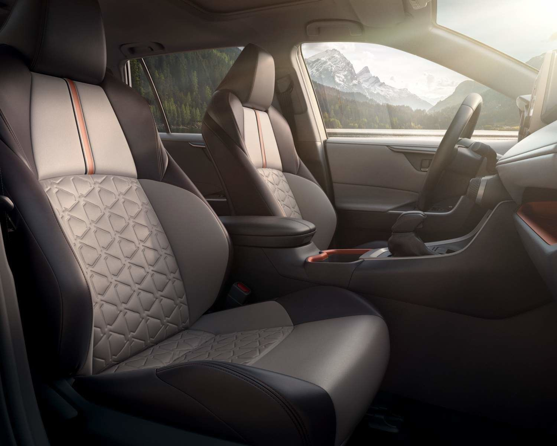 RAV4 TRD Off-Road interior