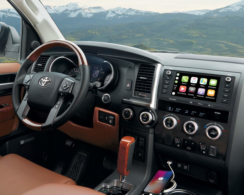 Système audio à écran du Sequoia avec Apple CarPlay<sup>MC</sup>