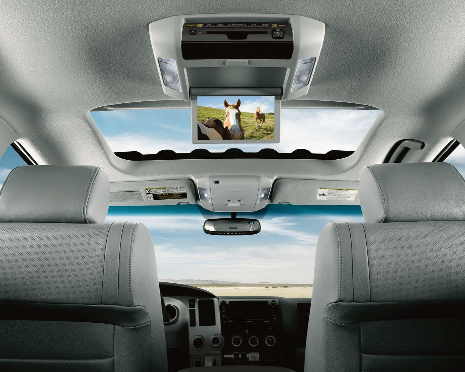 Sequoia Rear Seat Blu-ray Entertainment System